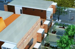 CHS Receives $450,000 grant for Repurposed Shipping Container Homes