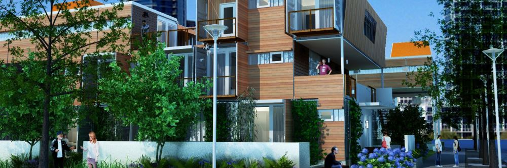 repurposed container homes