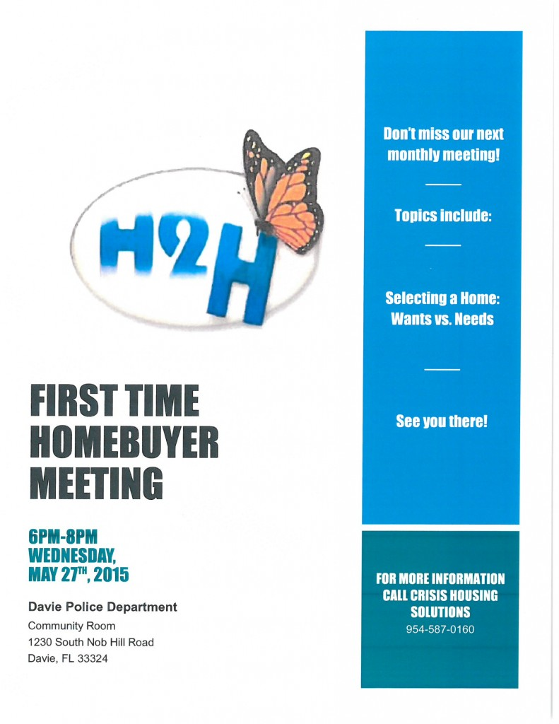 H2H MAY FLYER